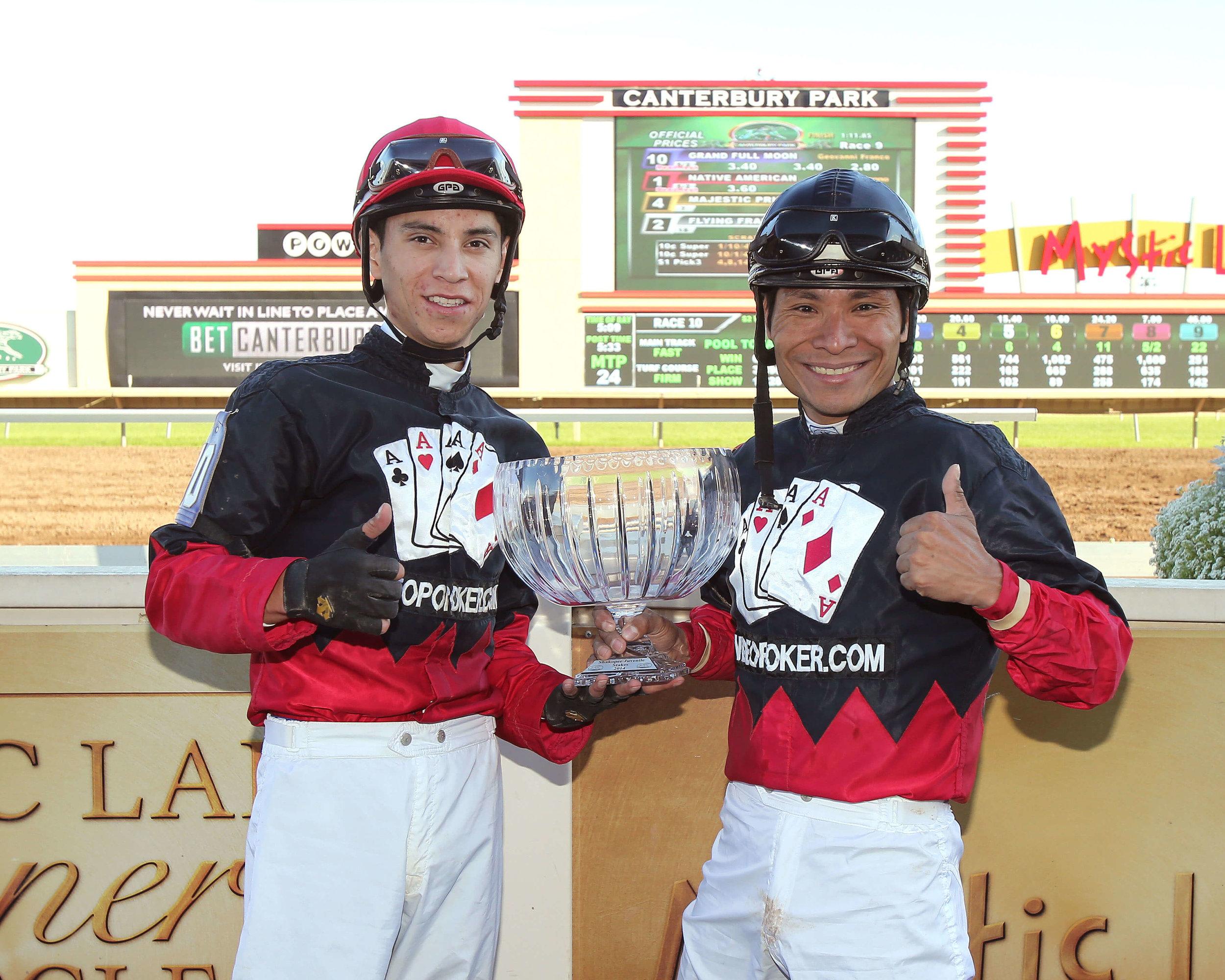 Native American & Grand Full Moon (DH) - Shakopee Juvenile Stakes - 09-13-14 - R09 - CBY - Pres2 (1).jpg