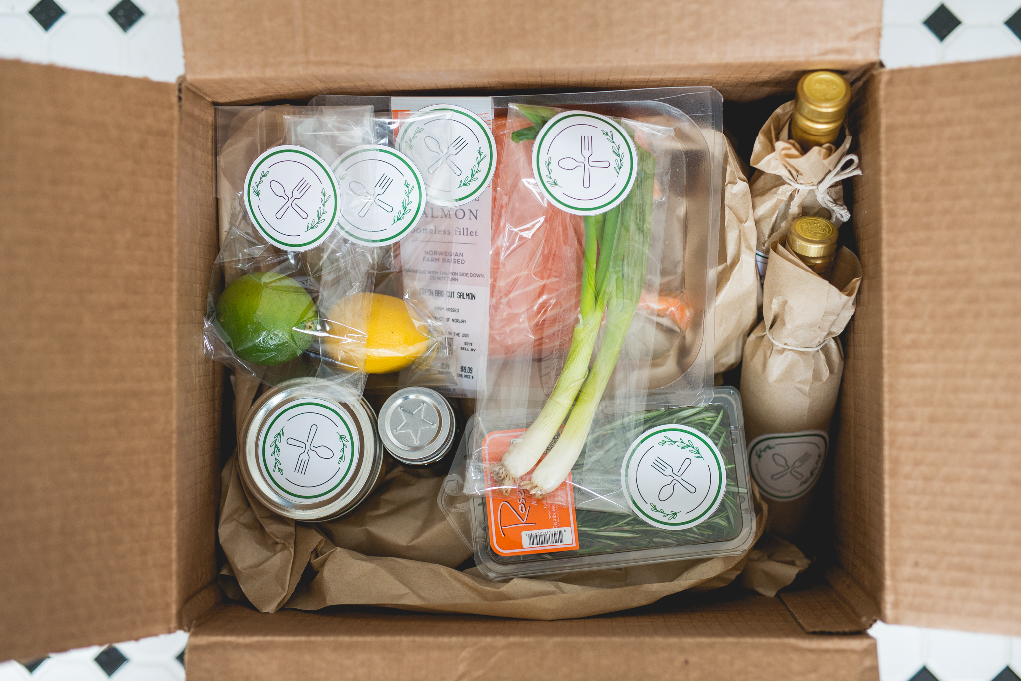 Food delivery packing