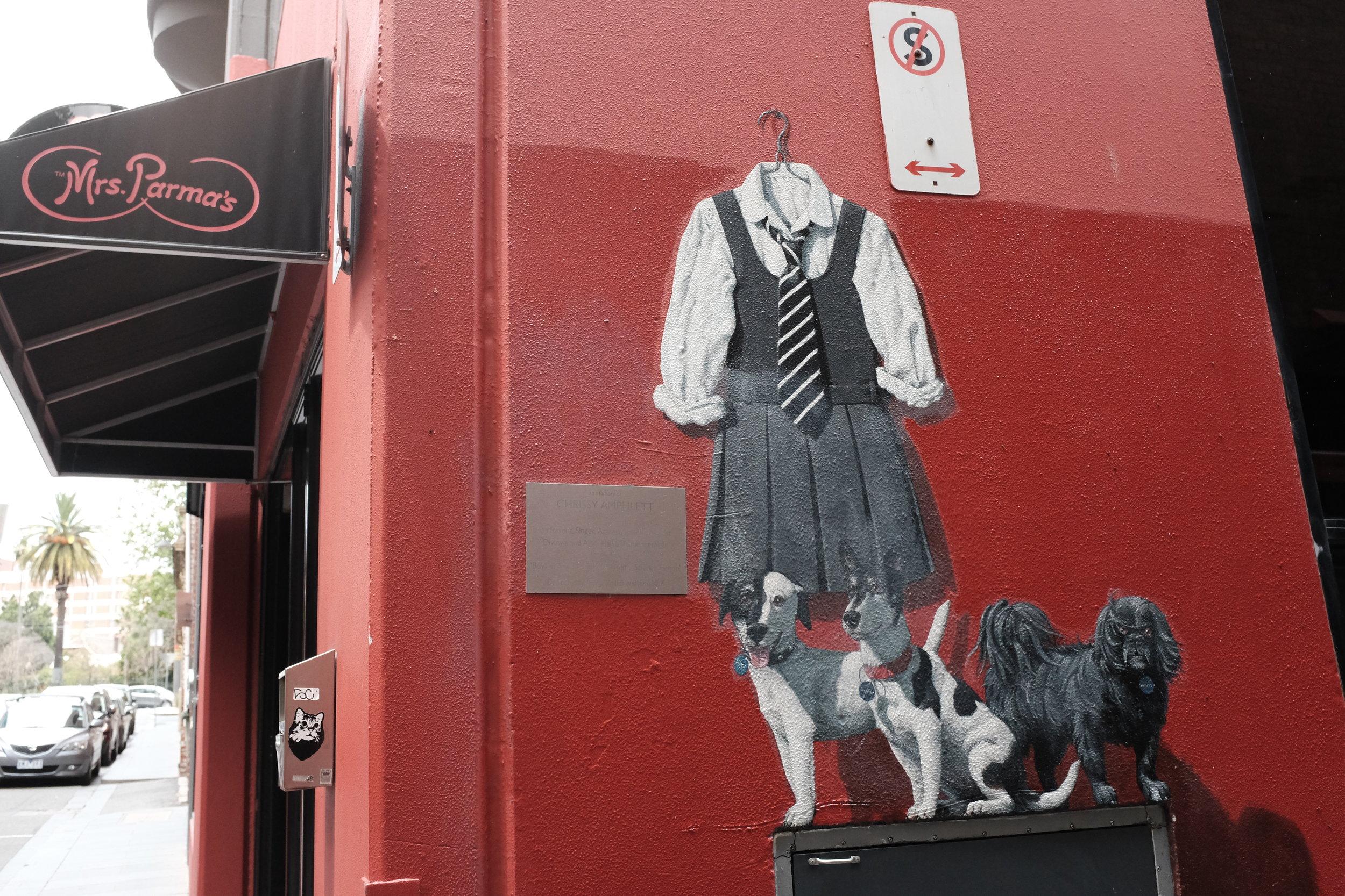 Amphlett Lane for Chrissy of the Divinyls
