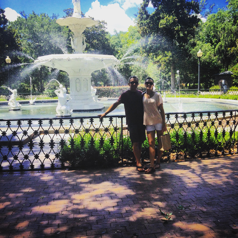 Forsyth Park Fountain, Savannah, GA
