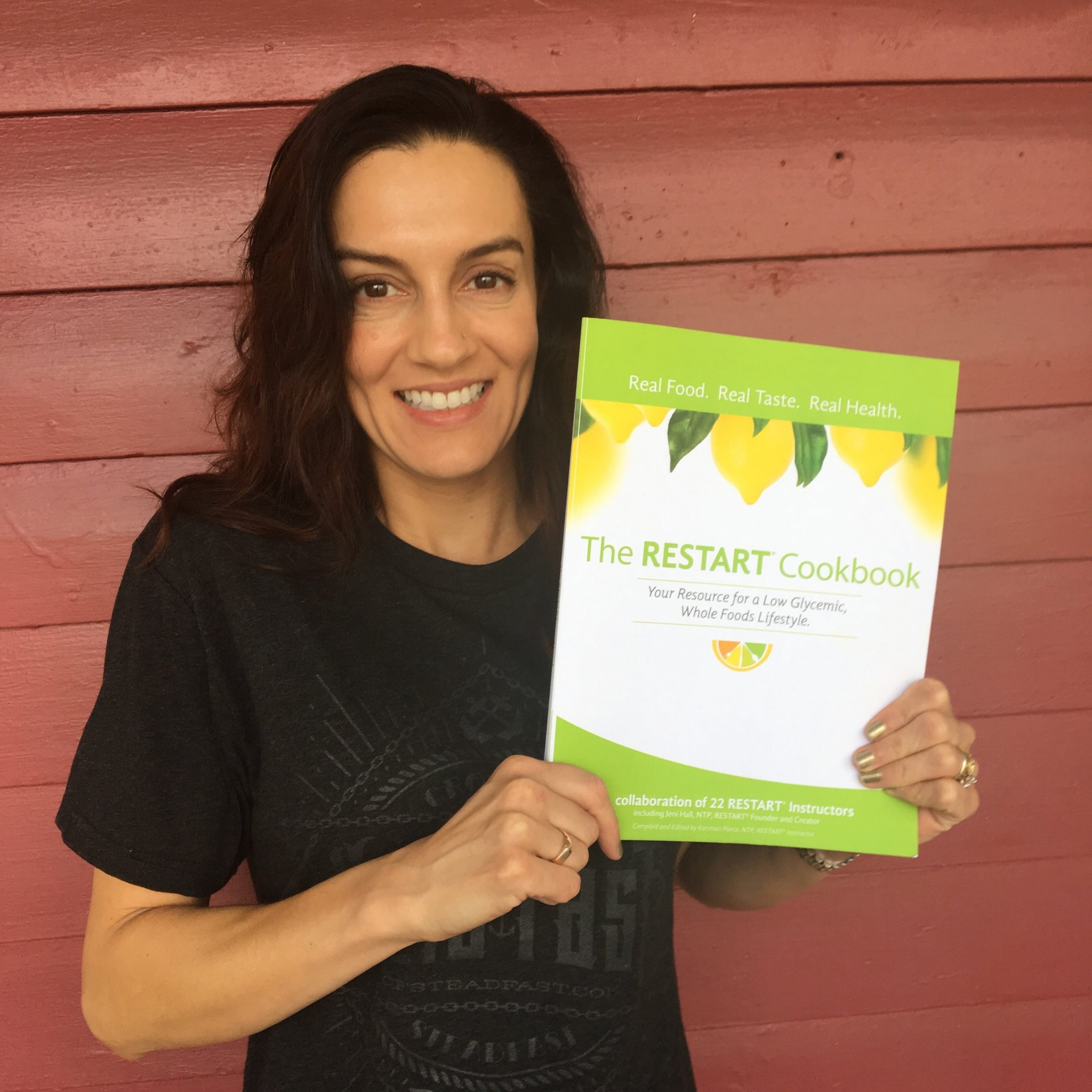 You get a cookbook to help with your healthy food preparation when you join the program!