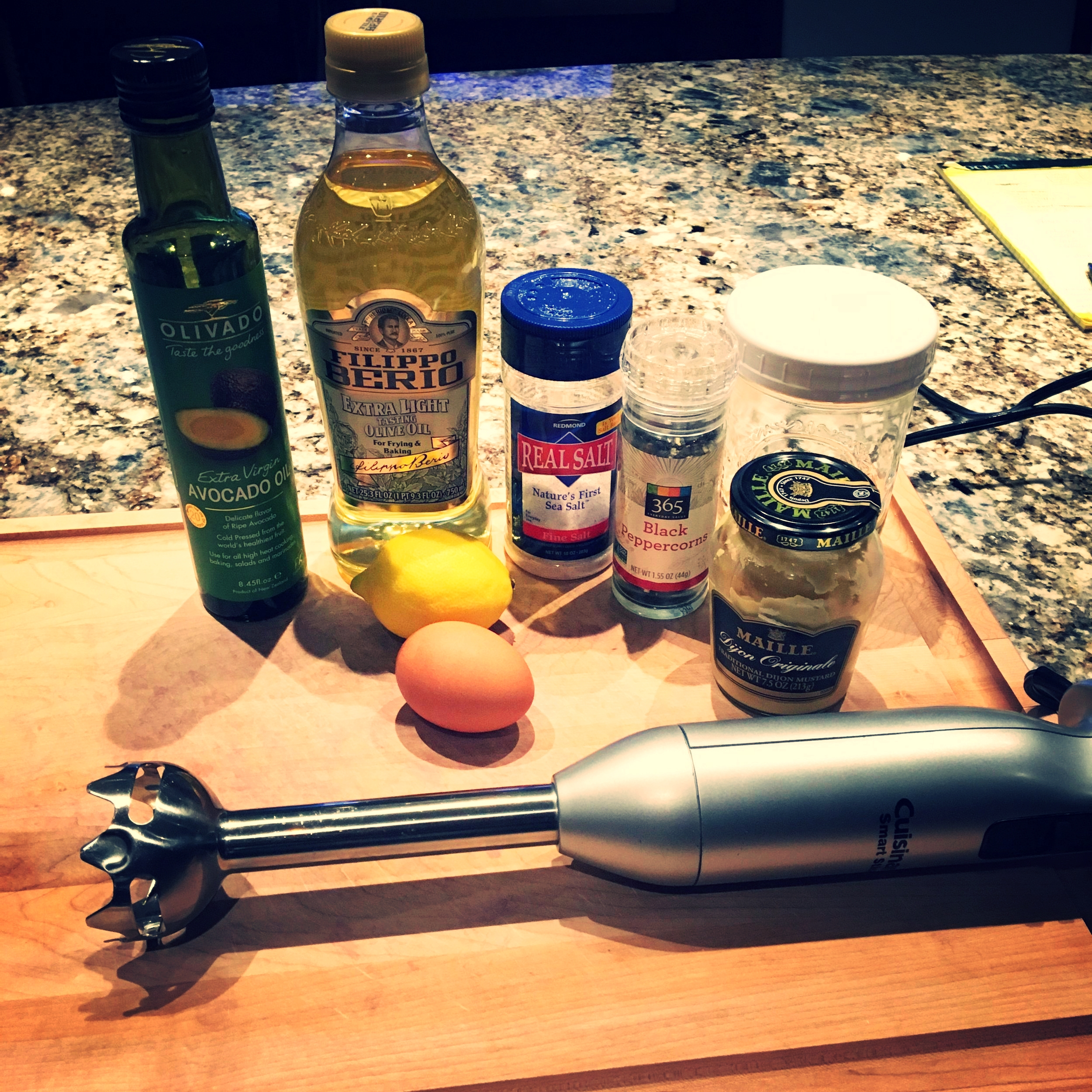 Ingredients and equipment...there's not a lot to this