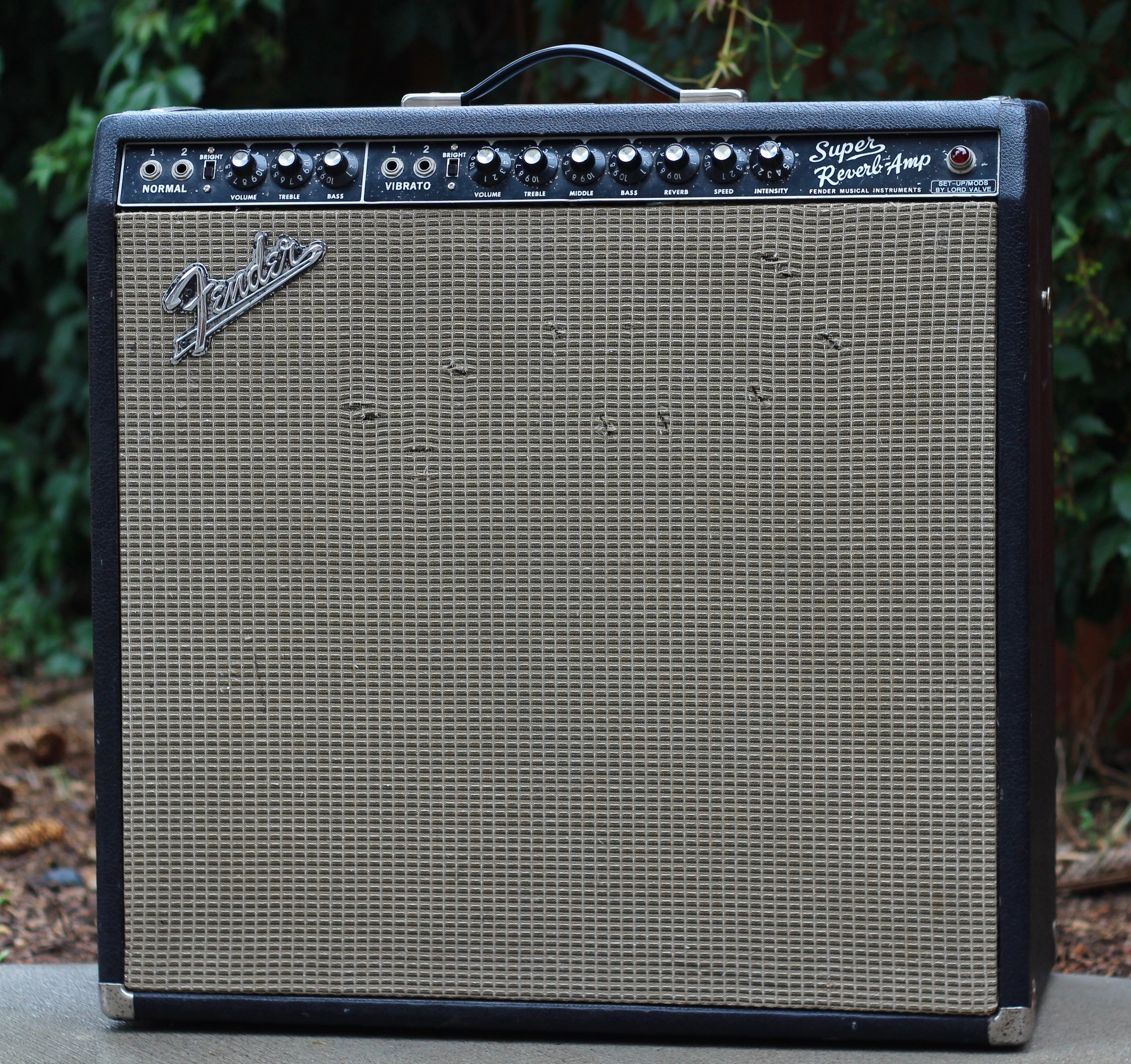 """Fender """"Super Reverb"""" (1966)             (Lord Valve Modified)"""