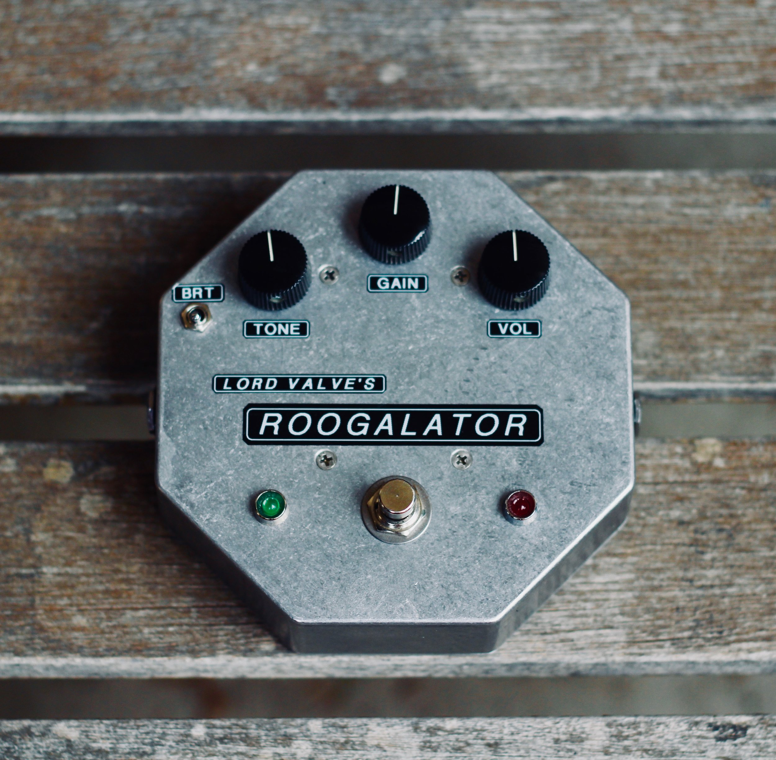 """Lord Valve """"Roogalator""""     Hand-Built Tube Overdrive Pedal"""
