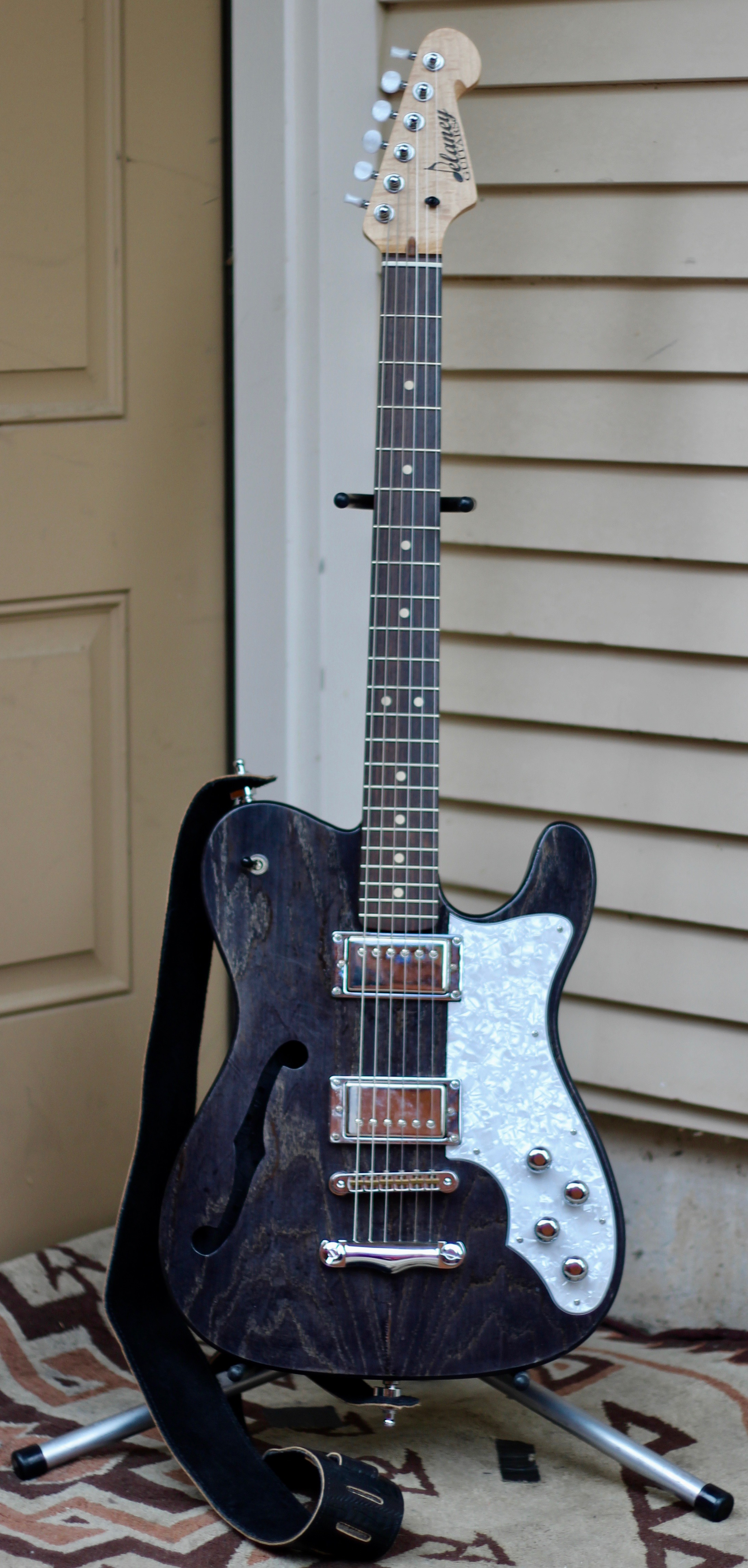"""Delaney  """"A.J. Fullerton""""  Signature Model       *Endorsed Artist with  Delaney Guitars *"""