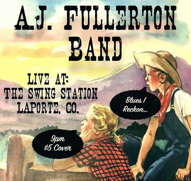 Playing the ultra-vibey @swingstationlaporteco with the band this Saturday night! #vibe #swingstation #juke #juk #foco #noco #livemusic #fortcollins #laporte #colorado #blues #roots #rock #bluesingmymind #fuchsaudio #delaneyguitars #curtmangan #oldtimey #bluesireckon