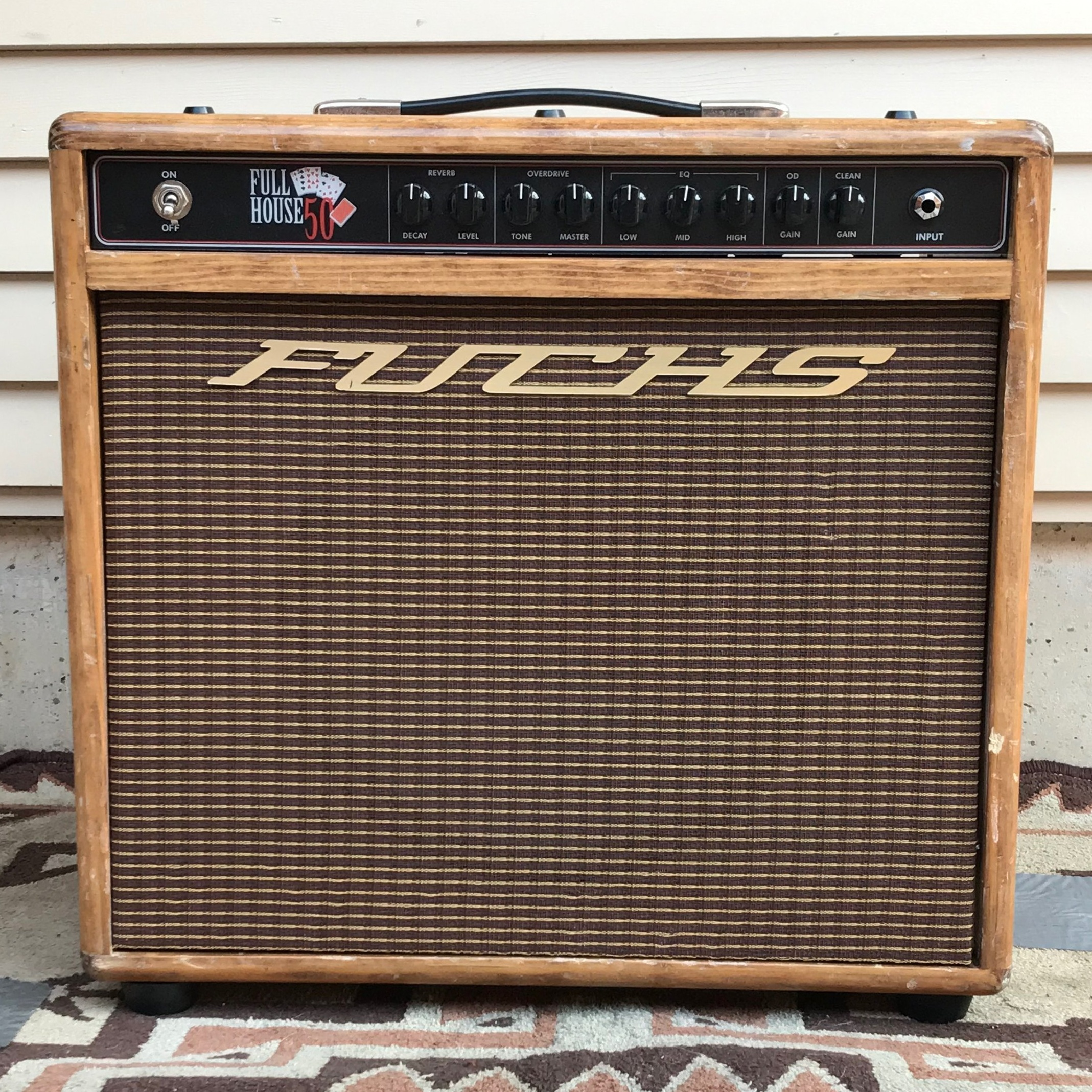 "Fuchs ""Full House""                (50-watt) 1x12 Combo                *ENDORSED ARTIST*"