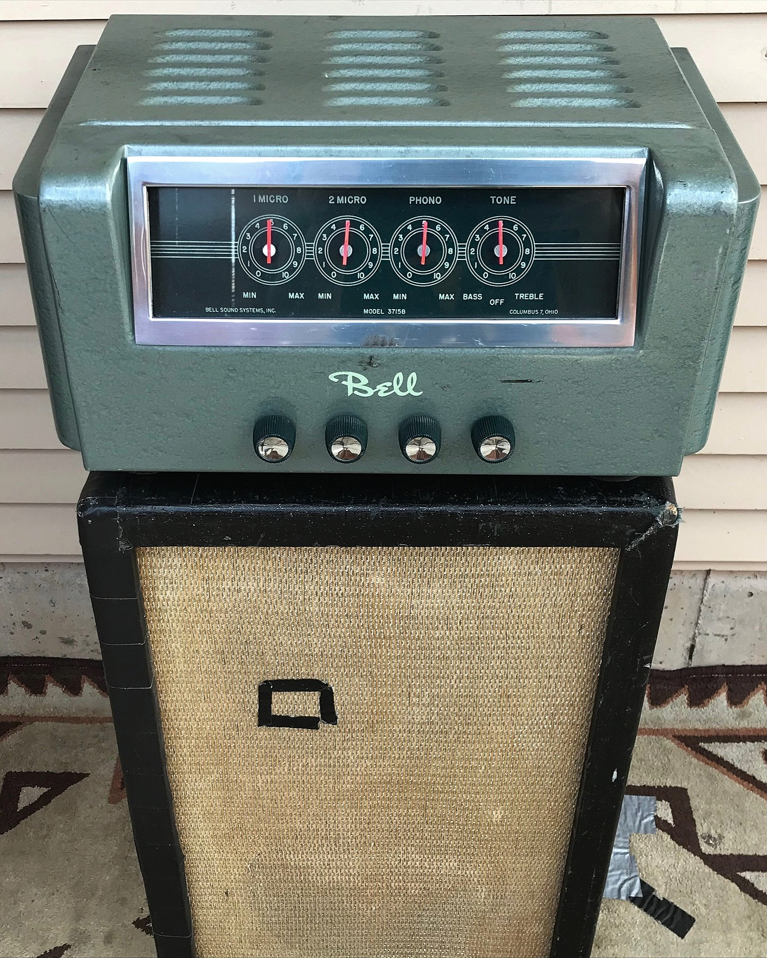 "Vintage Bell Amp              aka ""The Toaster"""