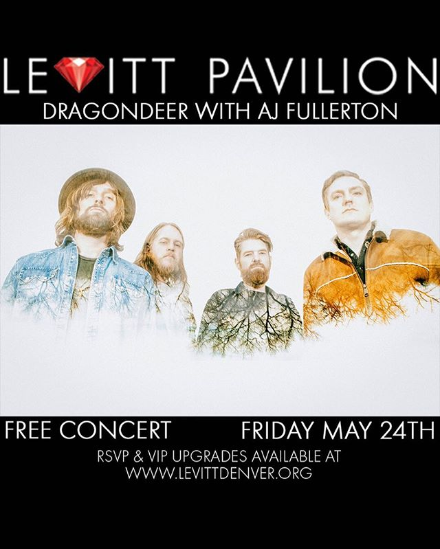 Beyond stoked to be on a bill with my friends @dragondeer at  @levitt_denver this year! We're playing 5/24. Levitt Pavilion is a non-profit music venue that relies on donations and onsite concession sales. We also have VIP upgrades available for $30! You get VIP seating, 2 complimentary drinks and early entry to the venue. Learn more at www.levittdenver.org #dragondeer #ajfullerton #blues #roots #rock #music #denver #colorado #music #bluesingmymind  #levittdenver  #levittpaviliondenver