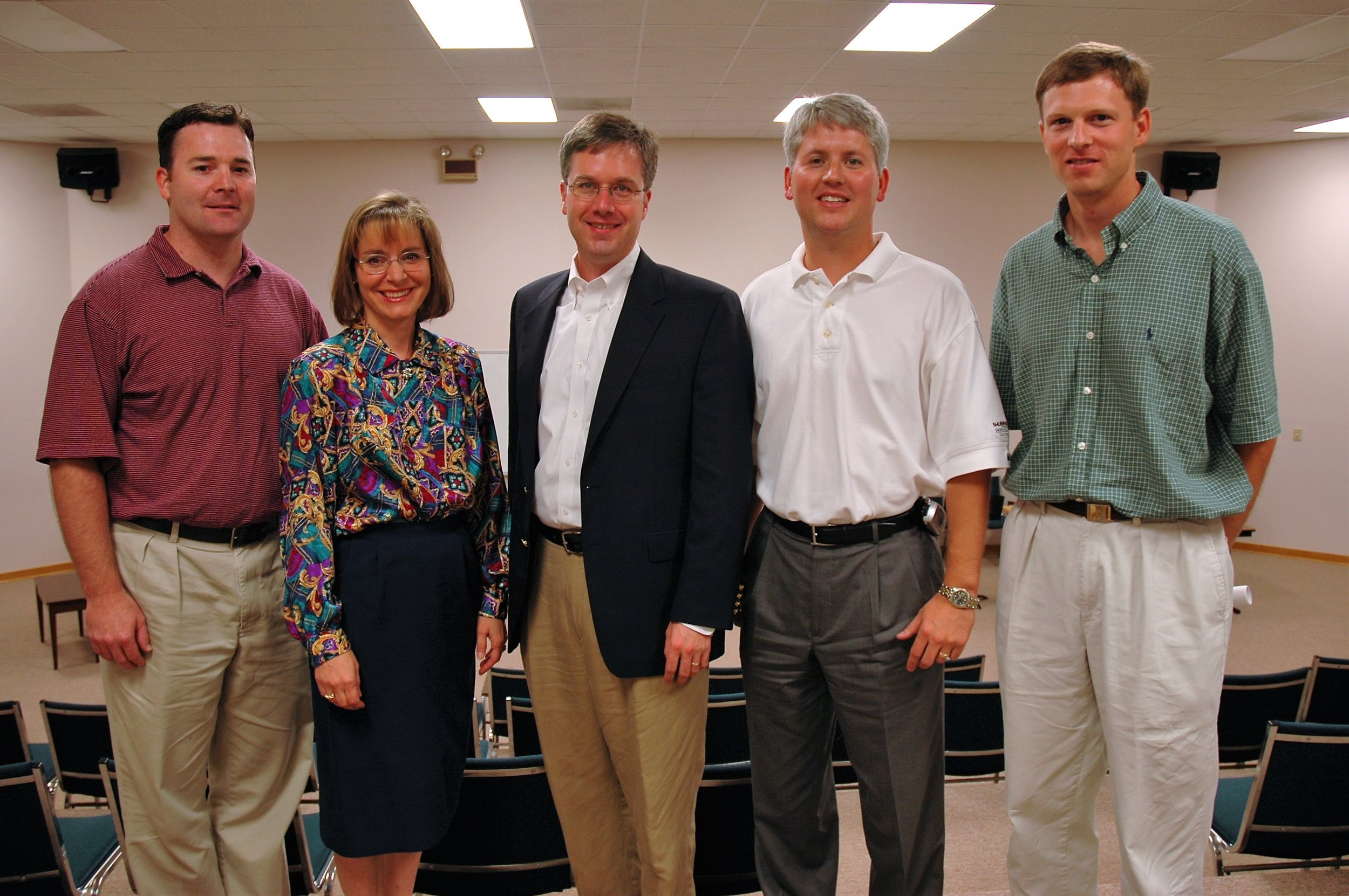 The newly-elected GCA Board - July 14, 2004