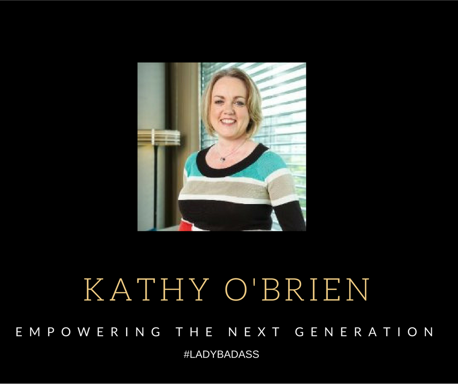 """When Kathy turned her back on her """"Media Life"""", young people immediately benefitted. Joining the Duke of Edinburgh Award, she has focused her extensive commercial knowledge on empowering and developing our next generation of achievers, and of course, #ladybadasses! She combines her understanding of business with the power of providing opportunity and apprenticeships for our future leaders. Kathy you are a #ladybadass!"""