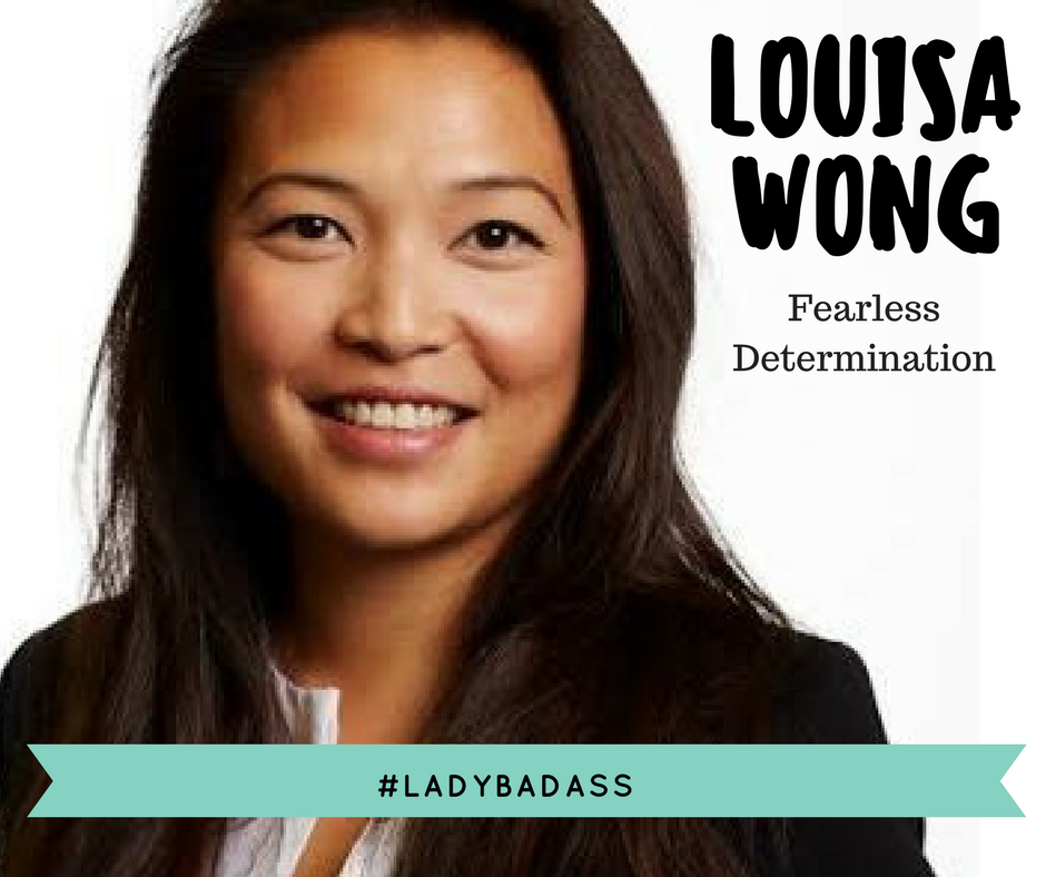 When I think of Louisa, I think of someone who is fearless, bounding with energy and someone who never lets anything stand in her way. Her passion for her work combined with her talent, drive and ambition has earned her career success in Europe and now North America. In true #ladybadass style, Louisa mixes her assertiveness with a heart of gold; personal relationships matter - she cares, she inspires and she looks for the best in others. Welcome to the #ladybadassery Louisa.