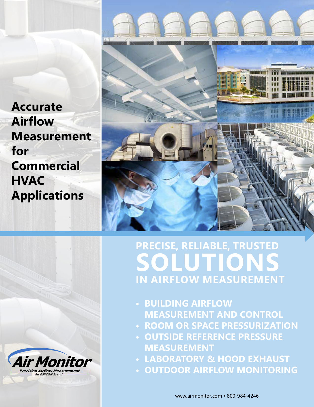 Air Monitor Family of Products Brochure