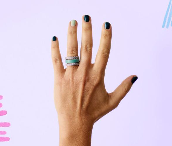 Qalo Stackable Rings