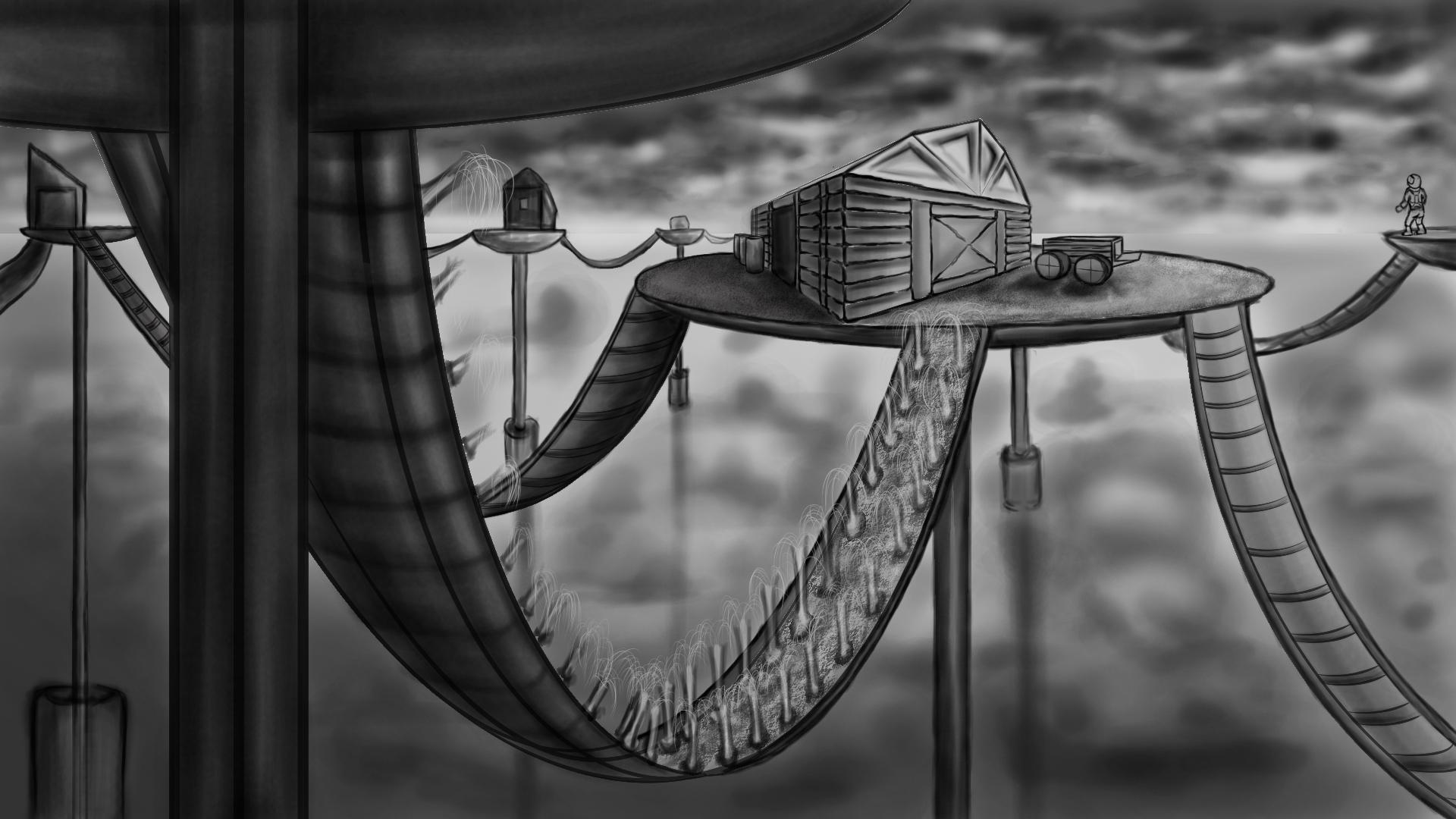Post Apocalyptic Farm - tonal