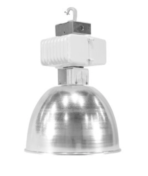 Typical metal halide or high pressure sodium fixture