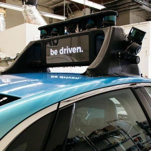 Sensor Rack for Drive.ai (Now a part of Apple)