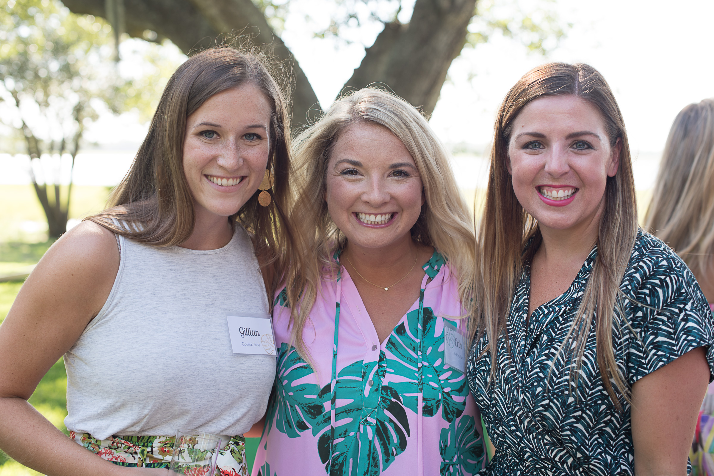 Gillian of  Coastal Bride  ; Erin ; Jackie of  Patrick Properties