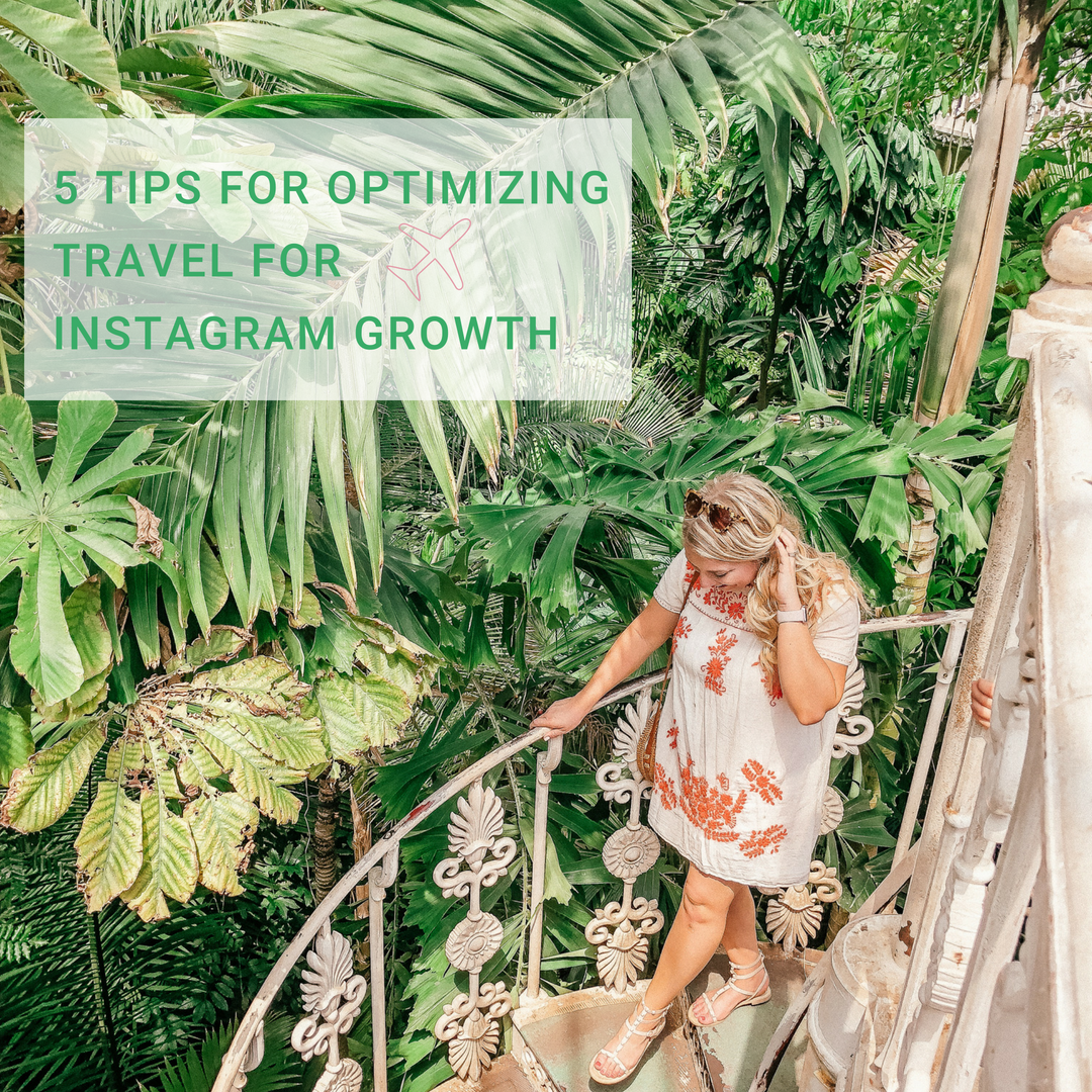 Grow Instagram with Travel