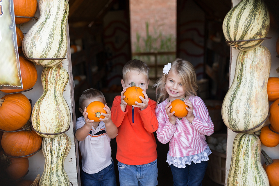 college station family photographer farm patch pumpkins