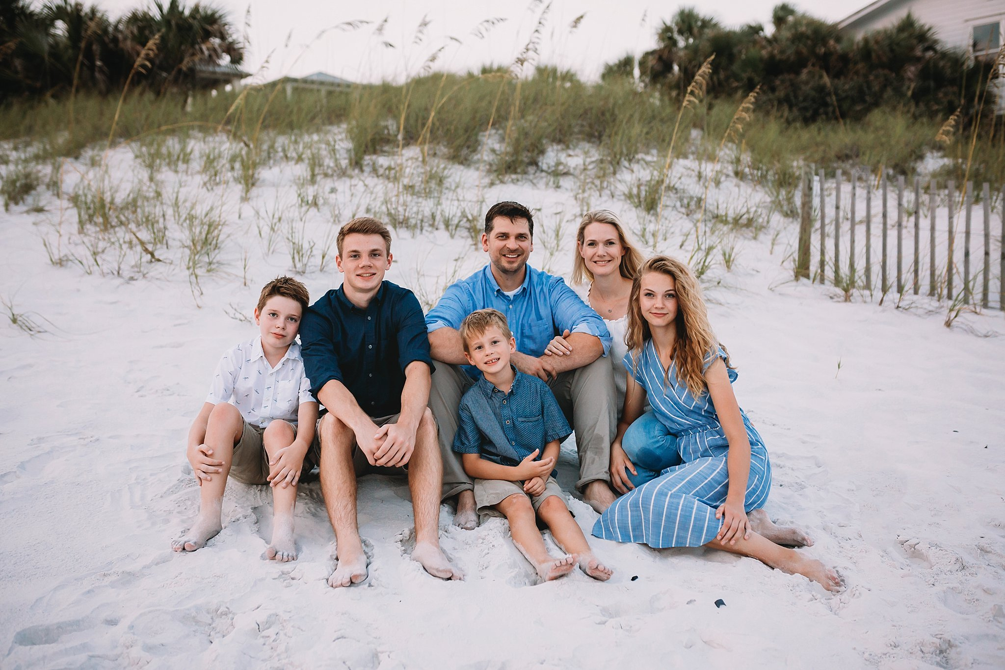 family portrait session, destin florida