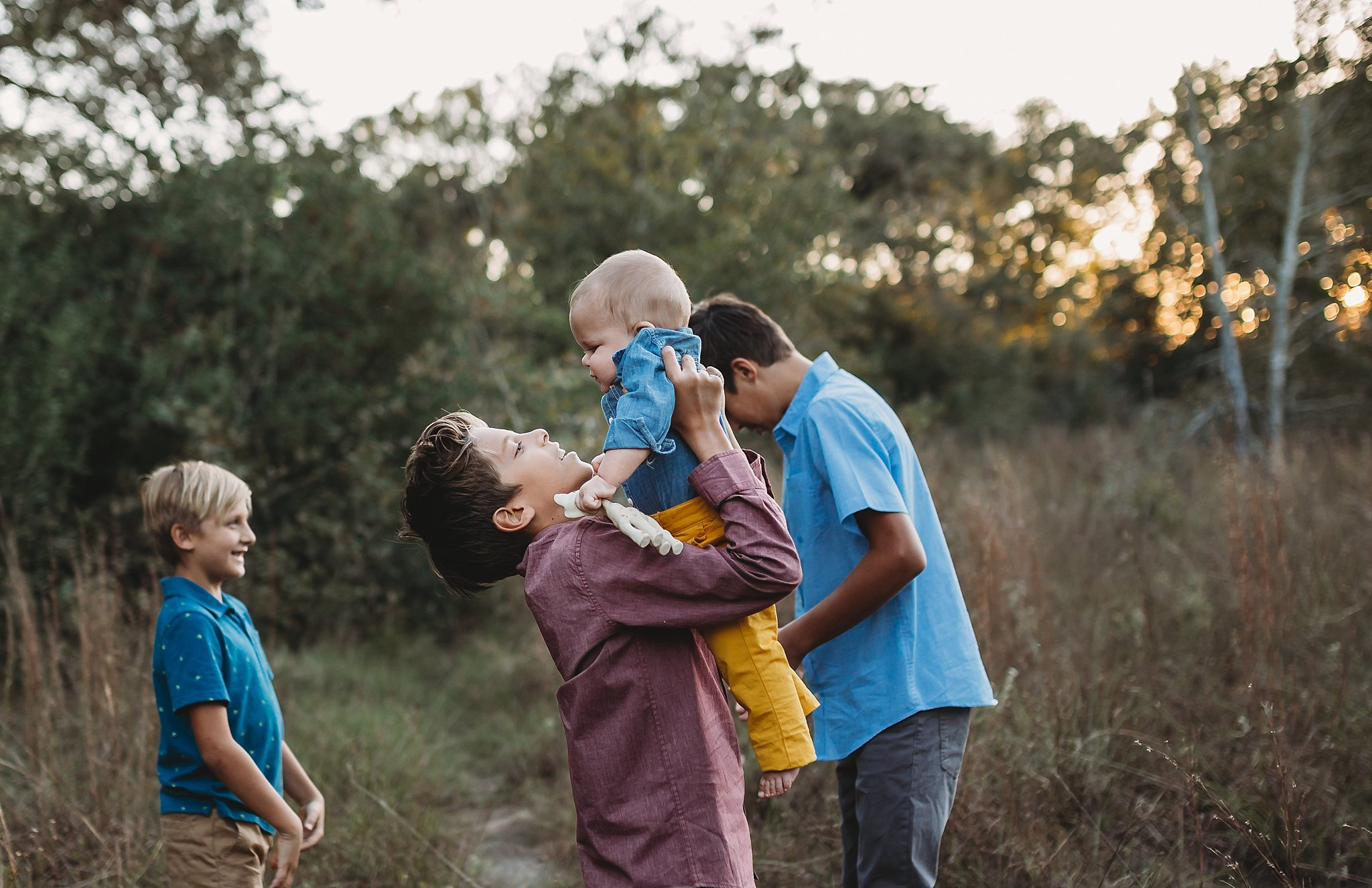 family photography in Bryan and college station