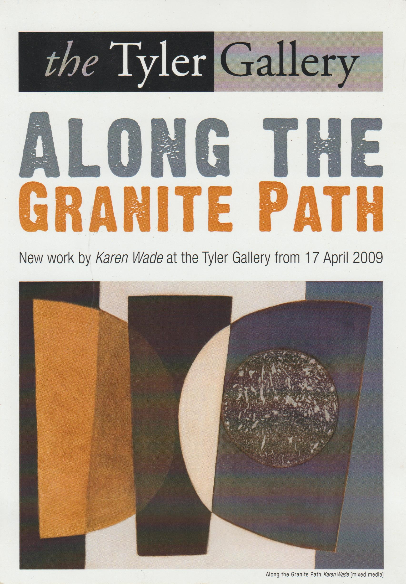 Along the Granite Path, Cornwall, 2009