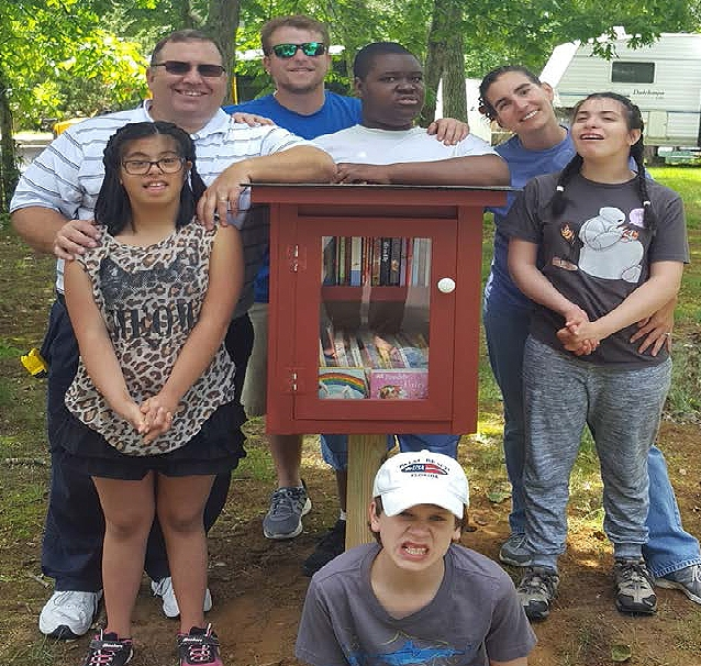 Springs School little free libraries.jpg