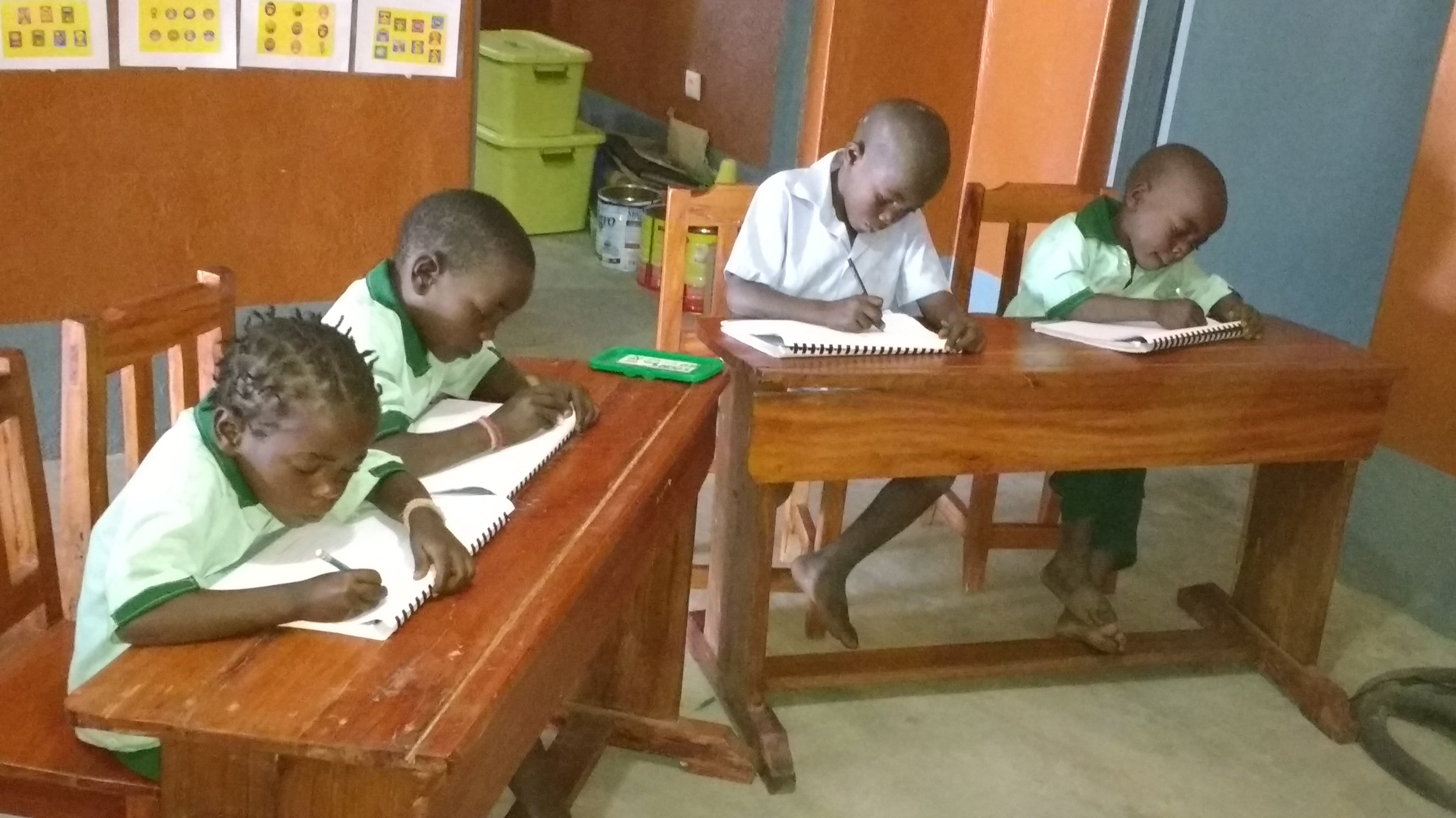 PRE/PRIMARY SCHOOL - Our school has 2 preschool classes and grades 1-3 of primary school. We provide a quality Christian education for kids from neighbouring villages who otherwise would have limited access to education.$5 a month can help us buy snacks for the children$125 a month can help us contribute towards teachers salaries$100 a month can help pay for a guardAnnual goal: $3600
