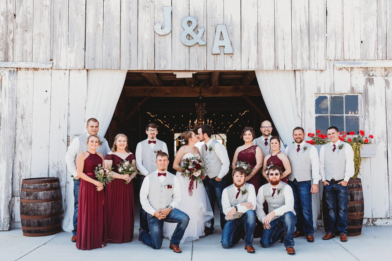 Waters Wedding TriMerous Photography Barn on Boundary Eaton Indiana-256.jpg