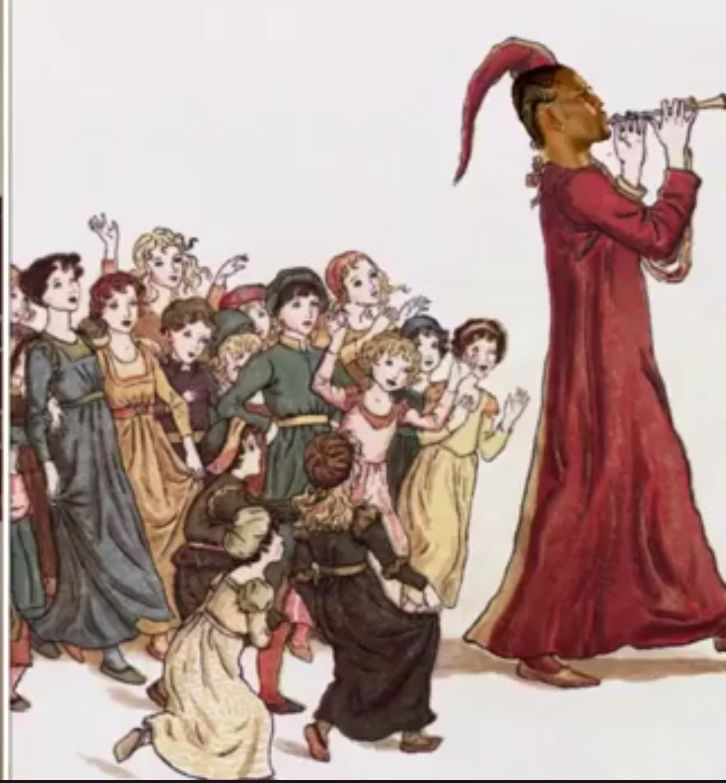 The Pied Piper of R&B leading children astray. (Google)