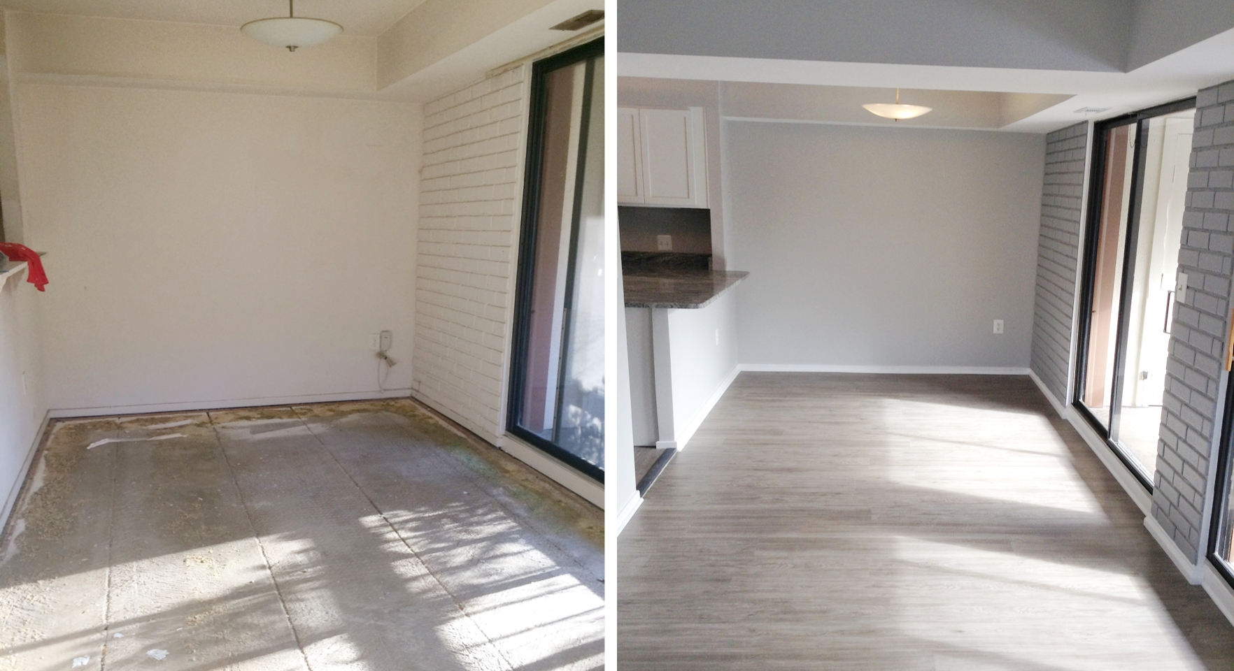 Dining Room: Before & After