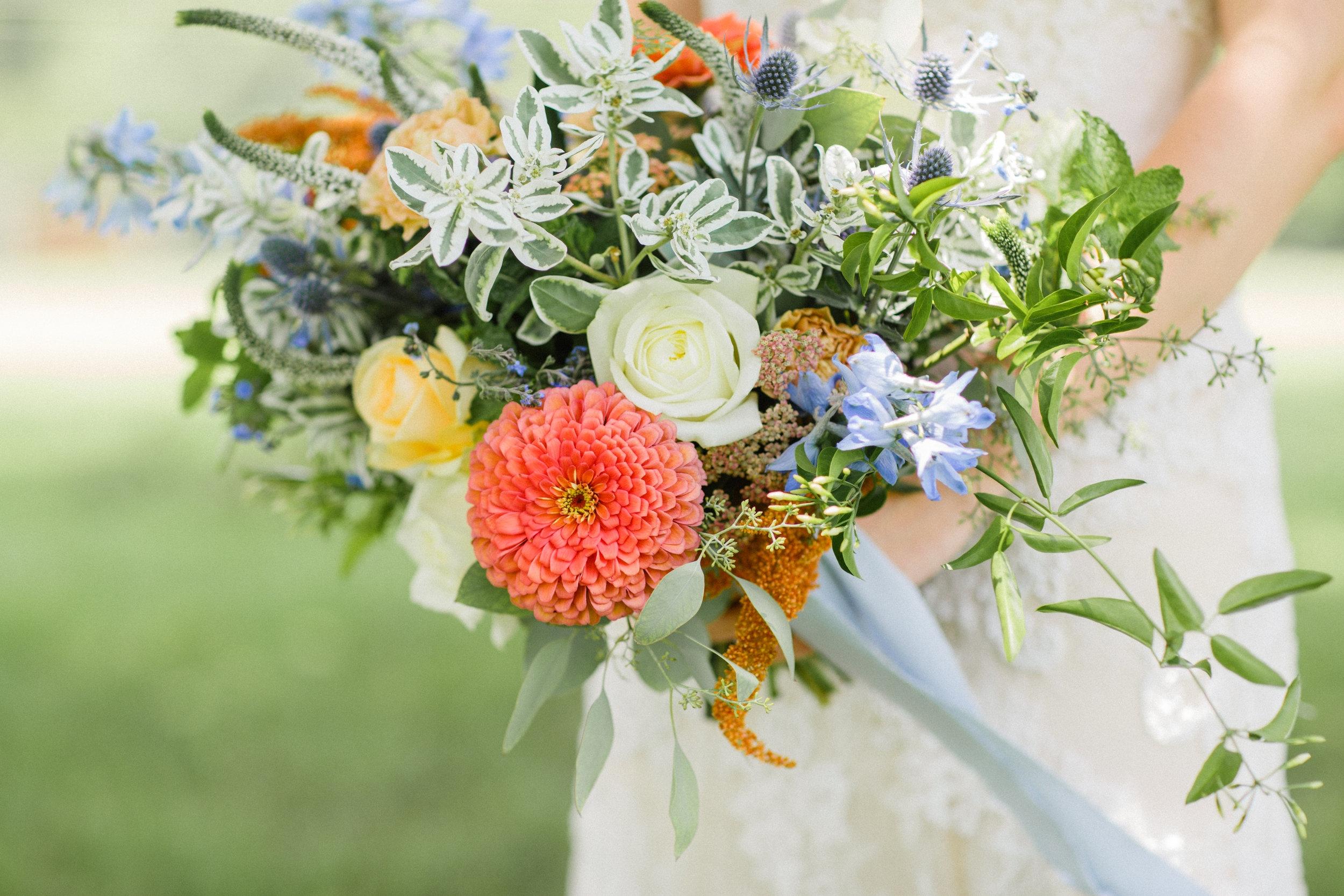 Charlotte wedding bridal bouquet