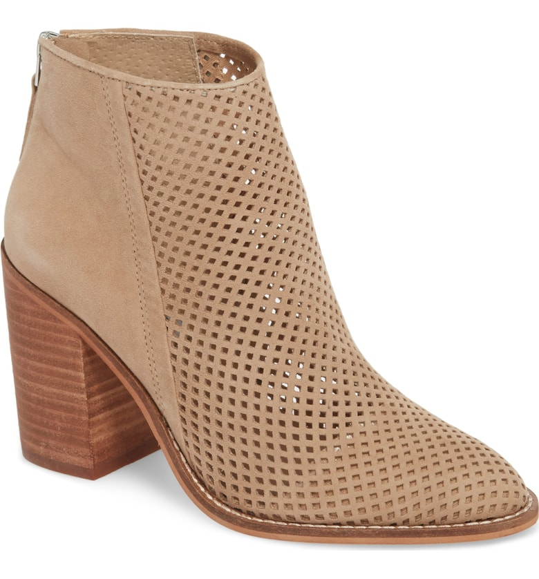 Steve Madden Rubble Perforated Bootie