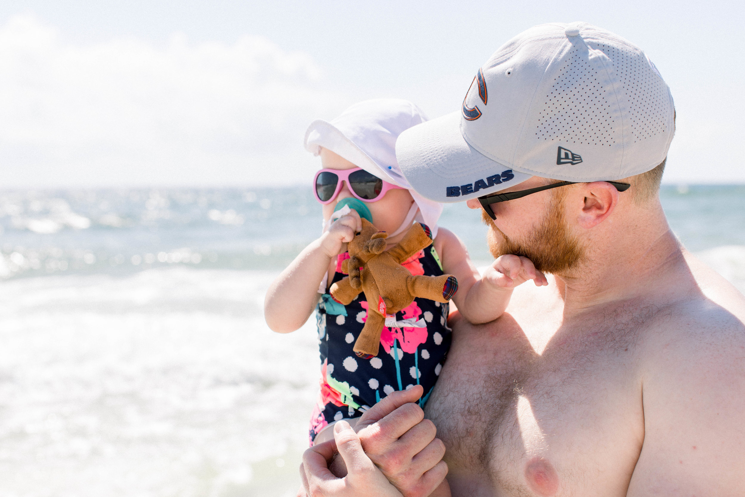 Father daughter, best friends, beach trip, vacation