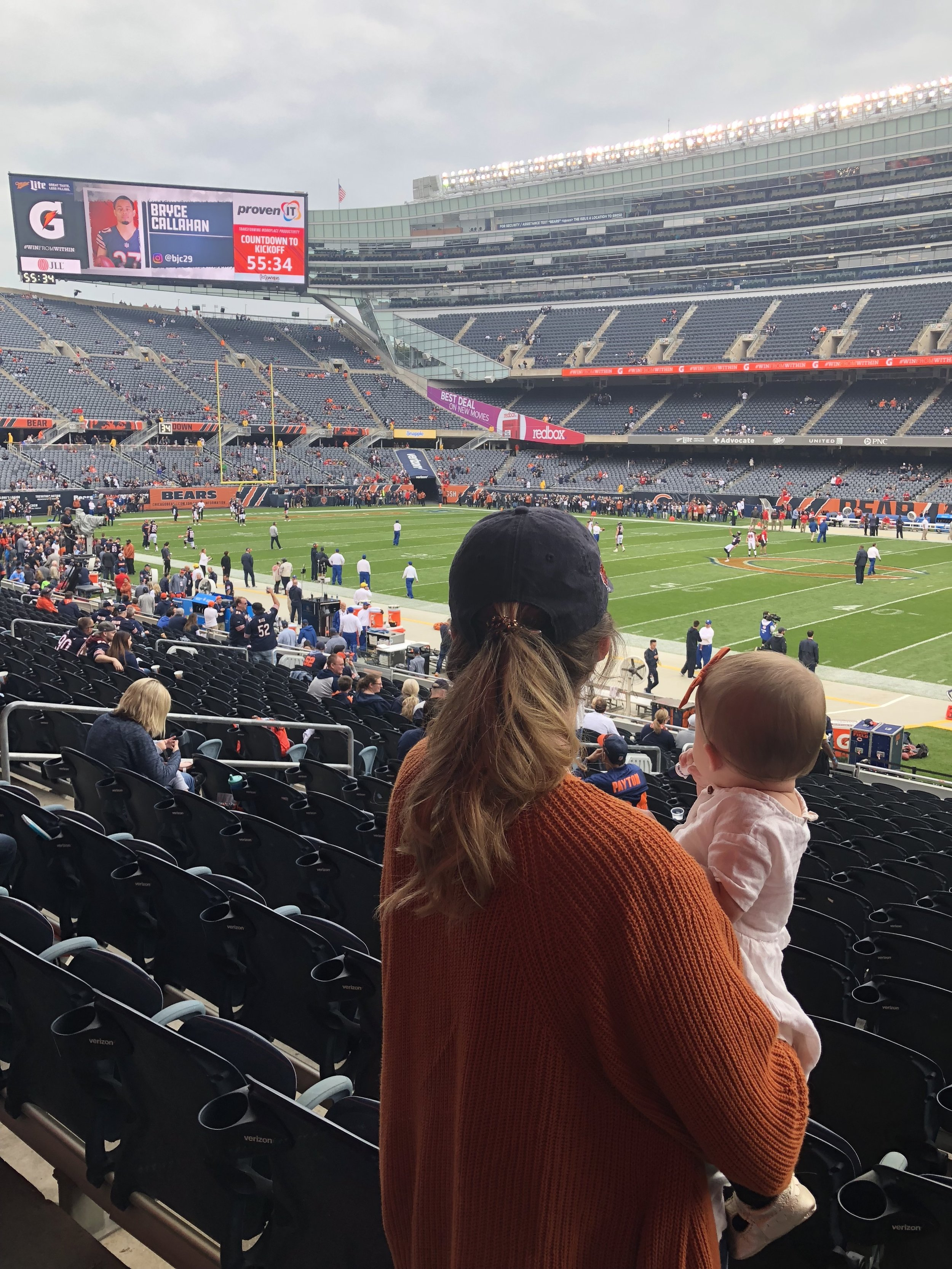 NFL Games, Chicago Bears Football, Mommy & Me
