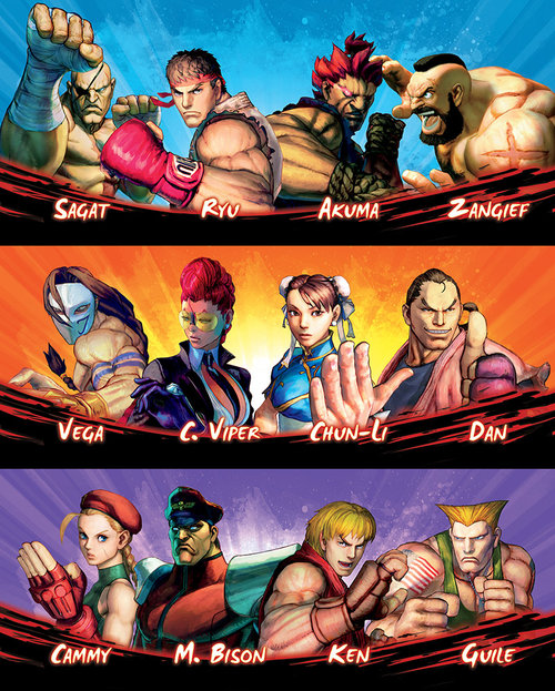 Exceed Season 3 Street Fighter Now Available For Pre Order
