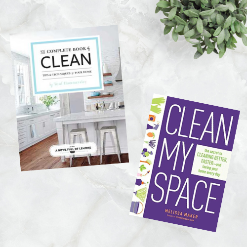 The Complete Book of Clean and Clean My Space