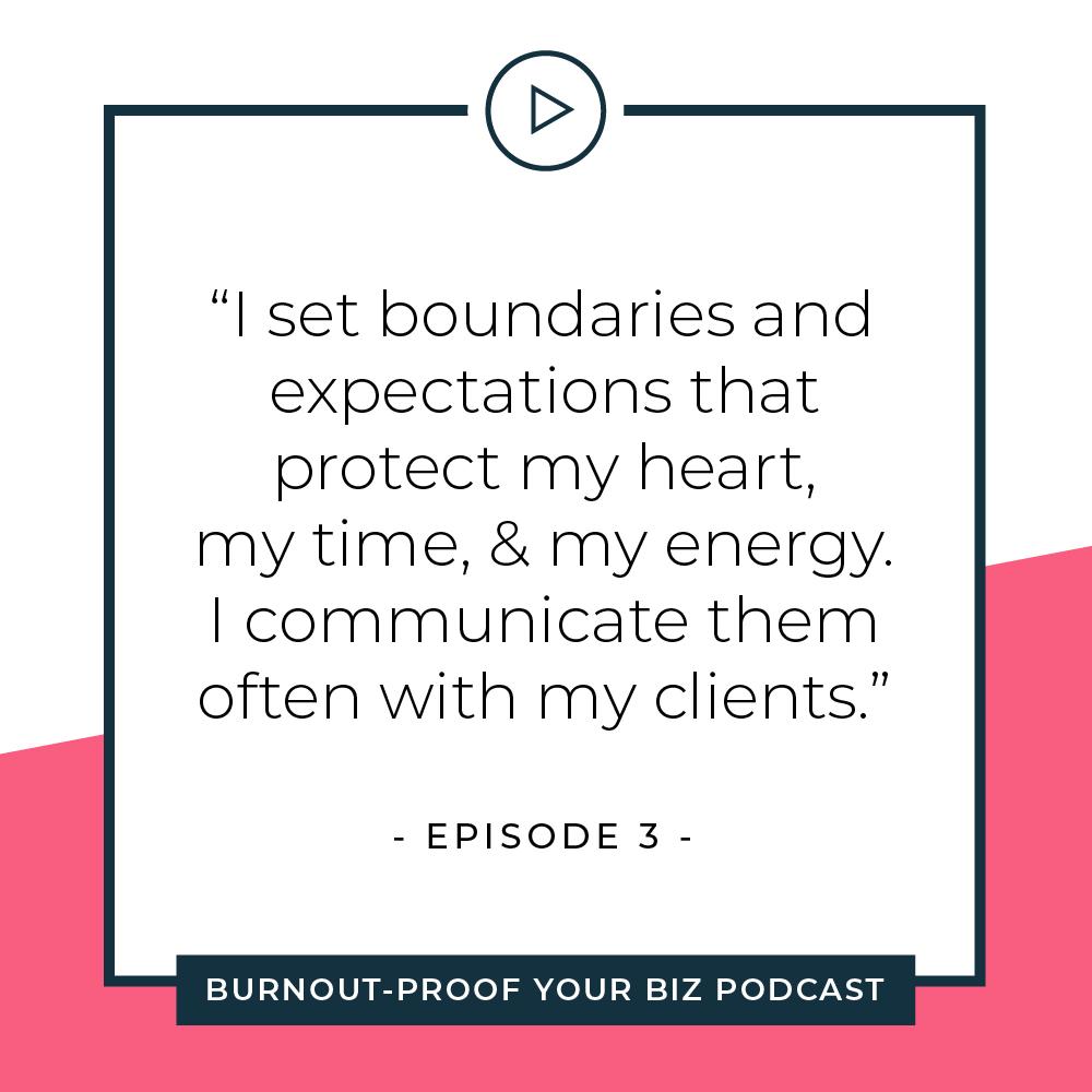 Your Permission Slip | Episode 3 of Burnout-Proof Your Biz with Chelsea B Foster | Listen at www.burnoutproofyourbiz.com.
