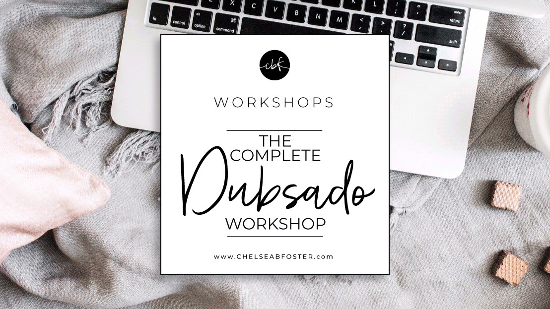 The COMPLETE Dubsado Workshop - A day long workshop-style training to help you master Dubsado, finally understand how the heck it works and how to use it for YOUR business, and feel completely confident about managing your clients with it. Save your seat today! Space is limited. More details at www.chelseabfoster.com
