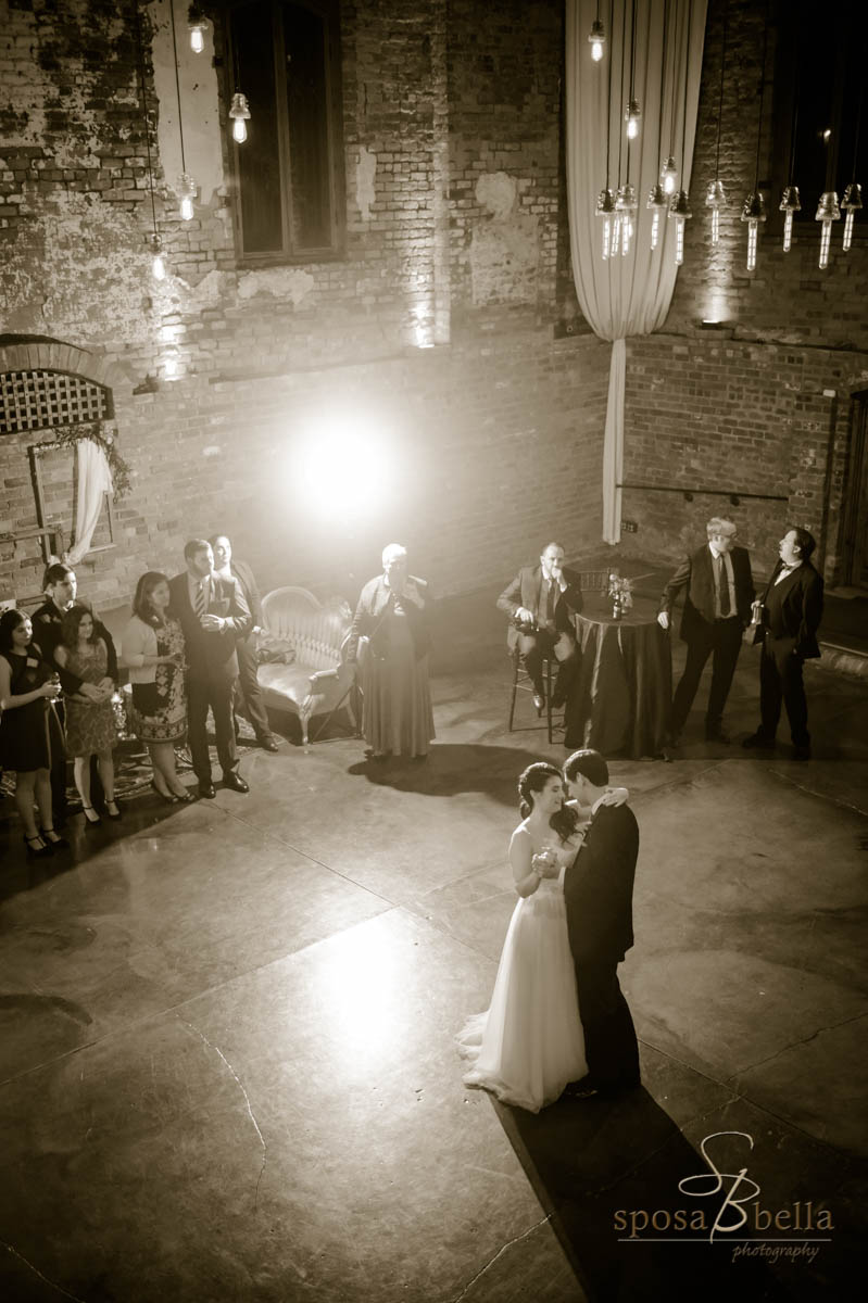 """The couple chose the perfect tune of """"History In the Making"""" by Darius Rucker as their first dance."""