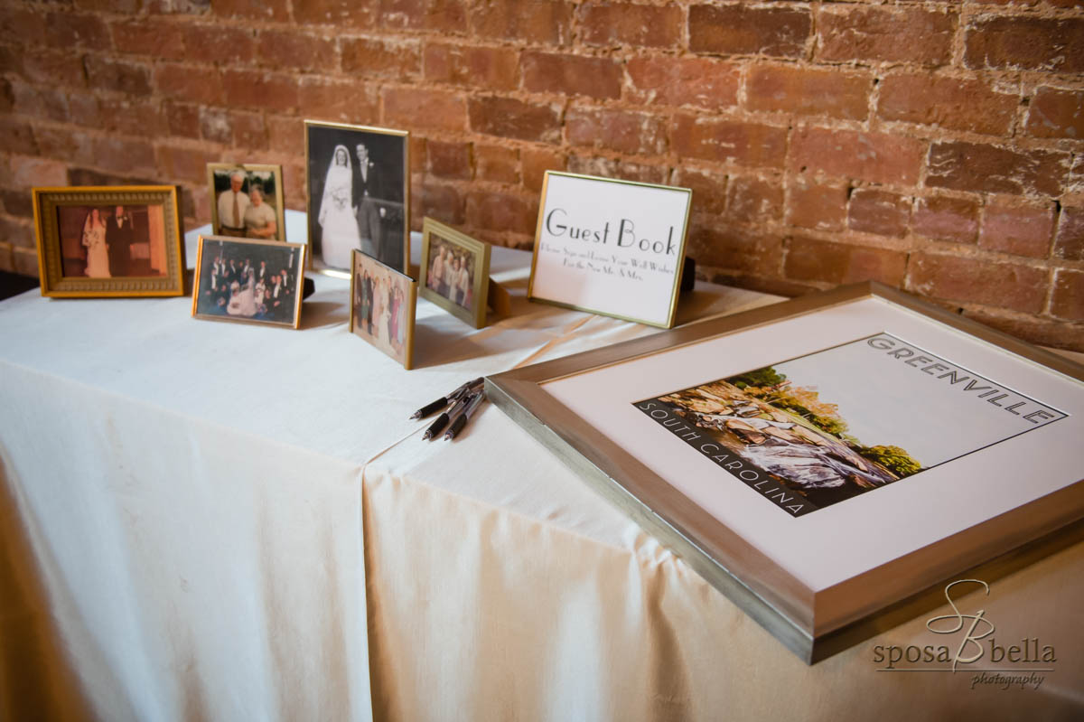 Dara & Rob wanted to honor any family members that could not be there in person. Dara & Rob honored family members that could only be present in spirit on their wedding day by showcasing their photos.