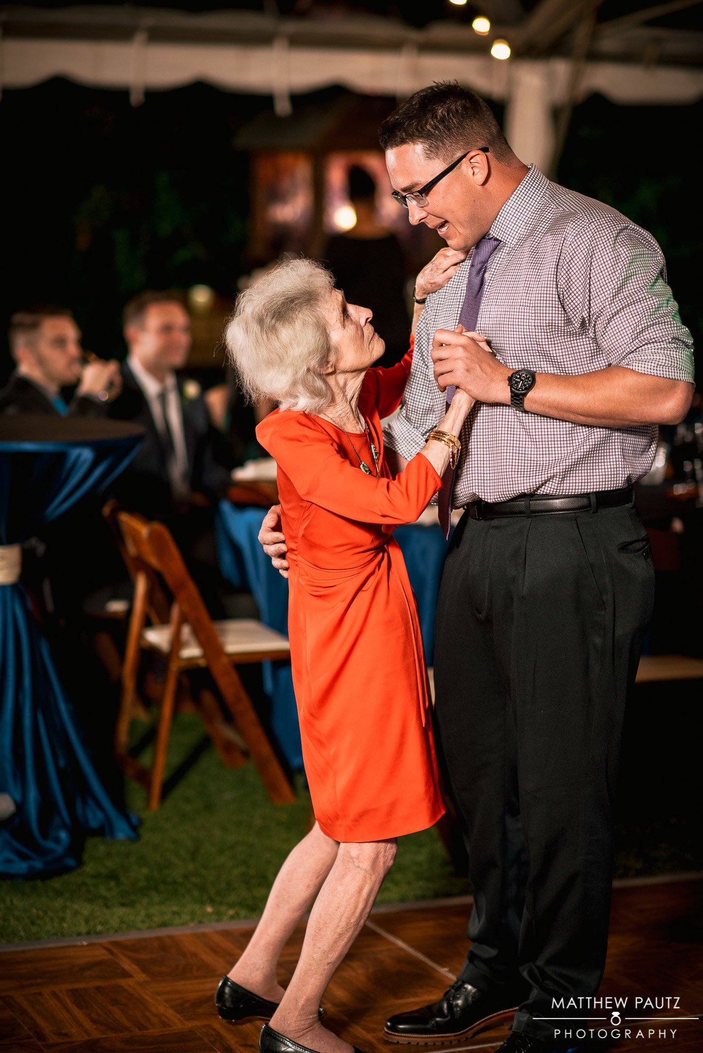 Even Grandma had to have a chance to dance!