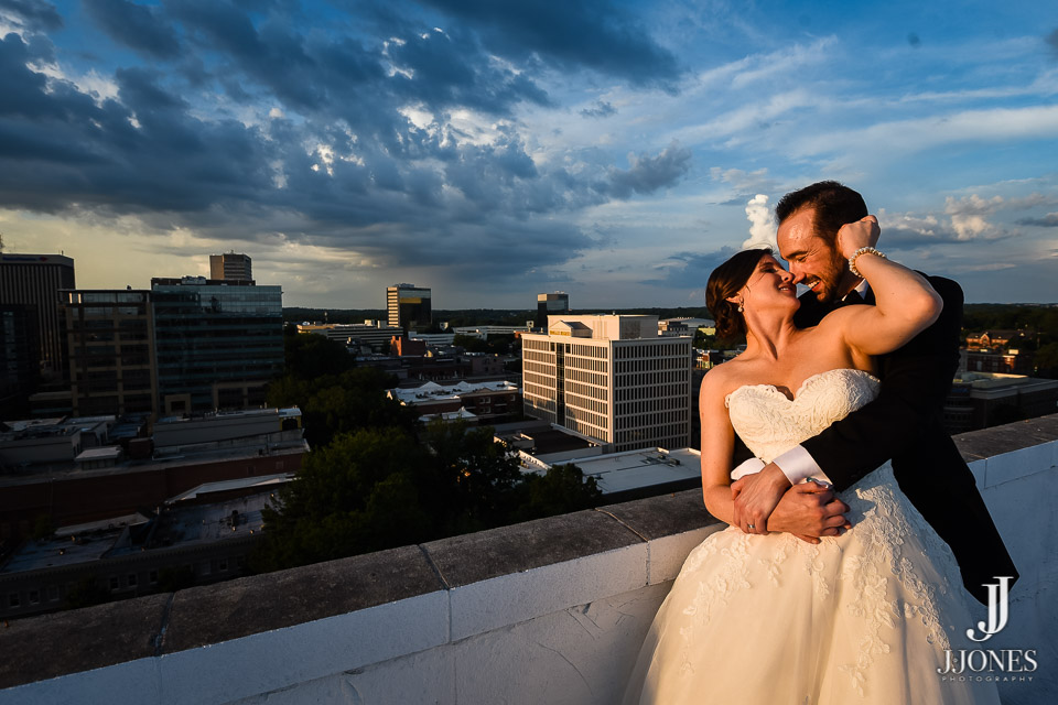Greenville, SC provides so much scenery for great wedding pictures. Great job Josh!