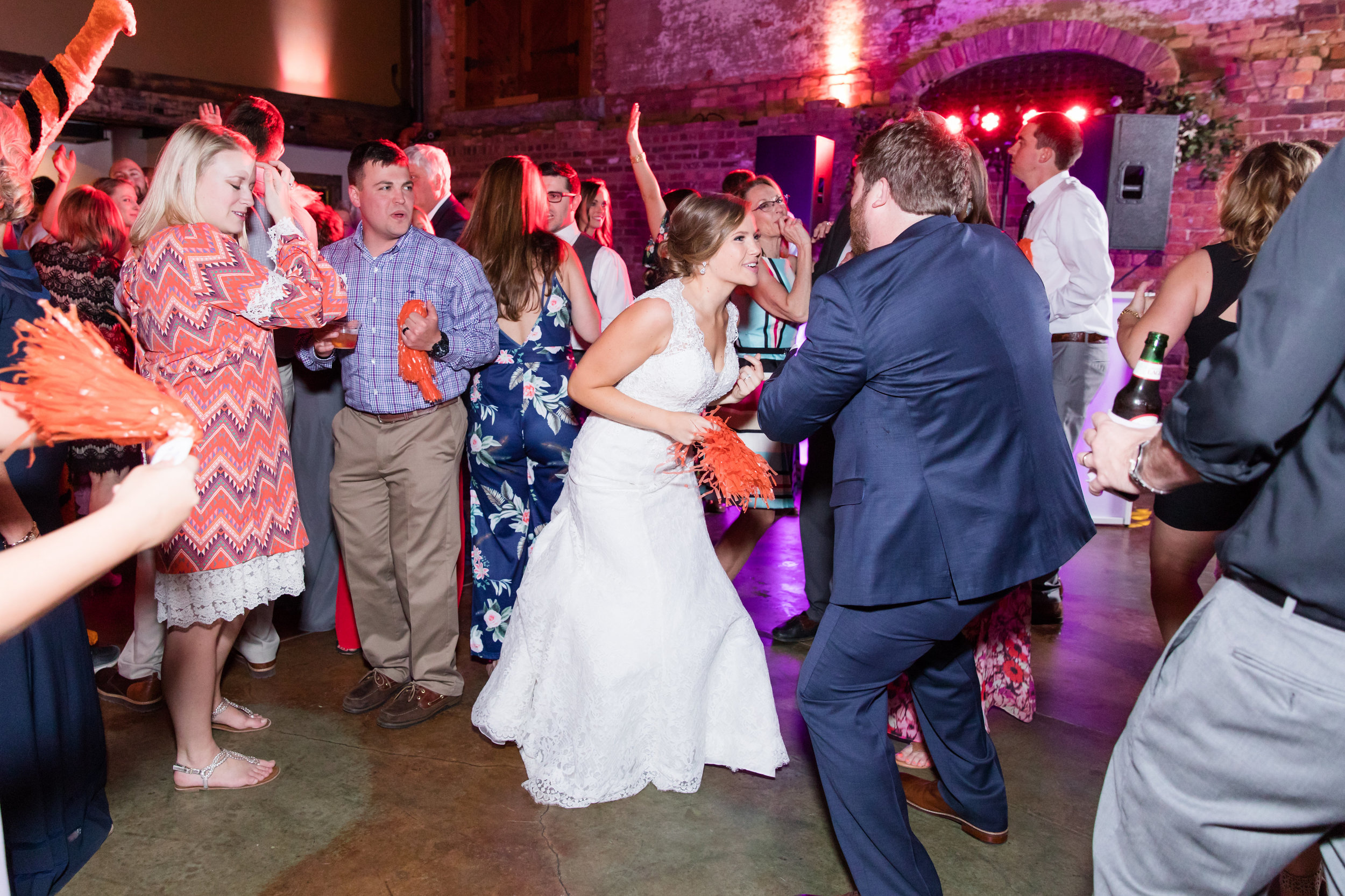 Packing dance floors…it's our thing! Megan and Ben had such a fun wedding DJ with Chris.