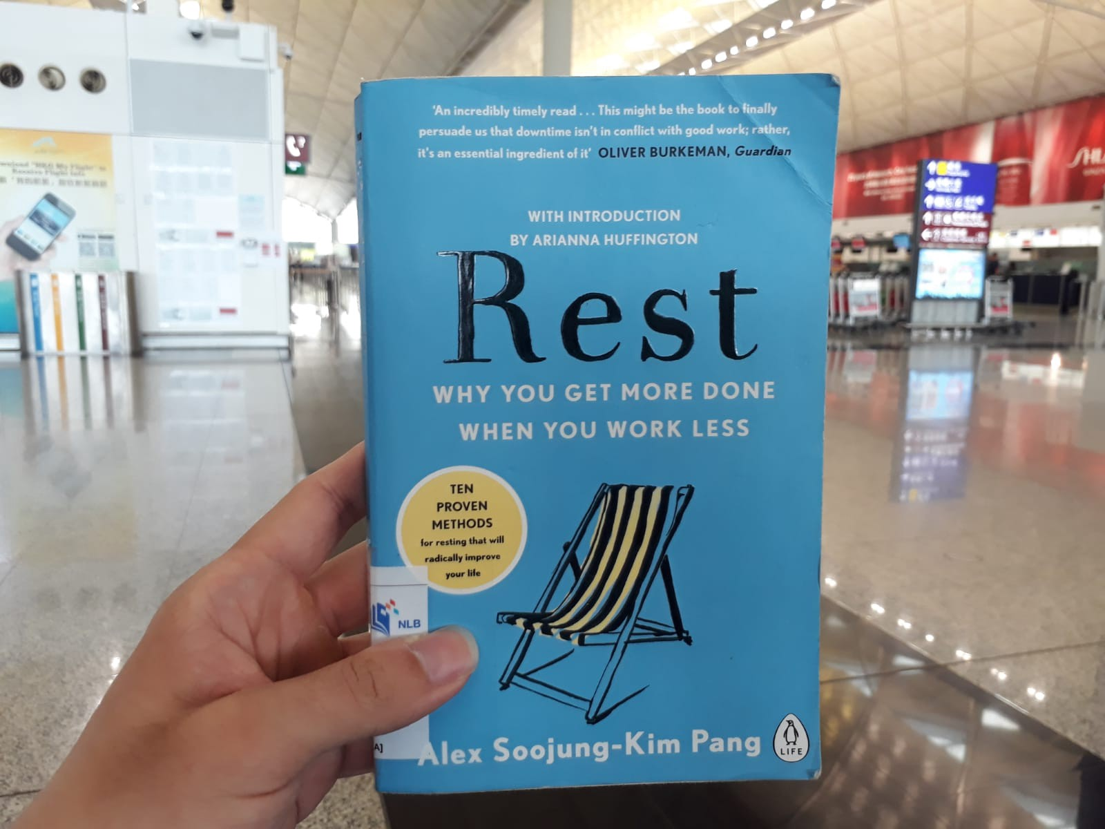 Vincent's Book Recommendation for the Week: On rest as intentional; it is not passive but an active process to feel more nourished and rested. Photo Credit: Vincent Ng