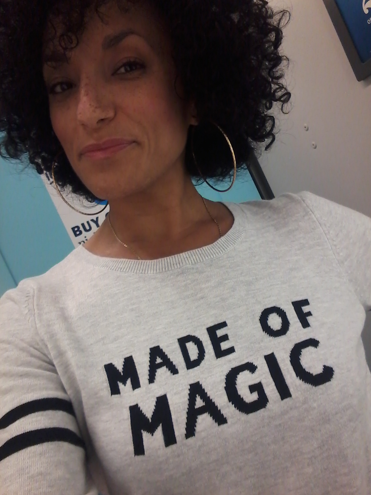We are all made of magic.