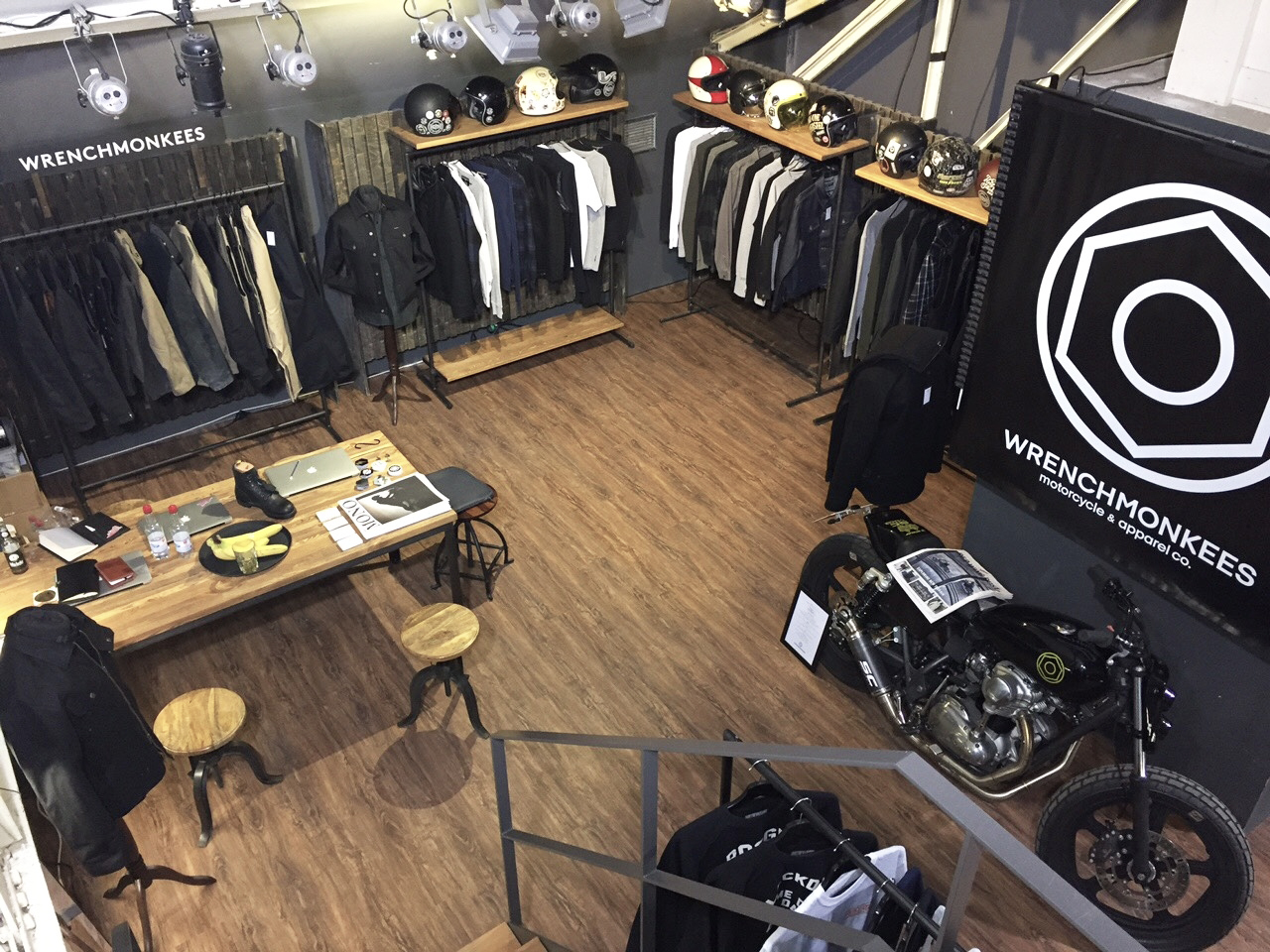 Wrenchmonkees AW17 at the Selvedge Run trade show.