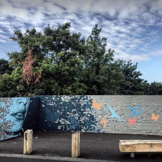 ATMA on West Avenue Bridge, #walthamstow village, #e17 for the #woodstreetwalls project