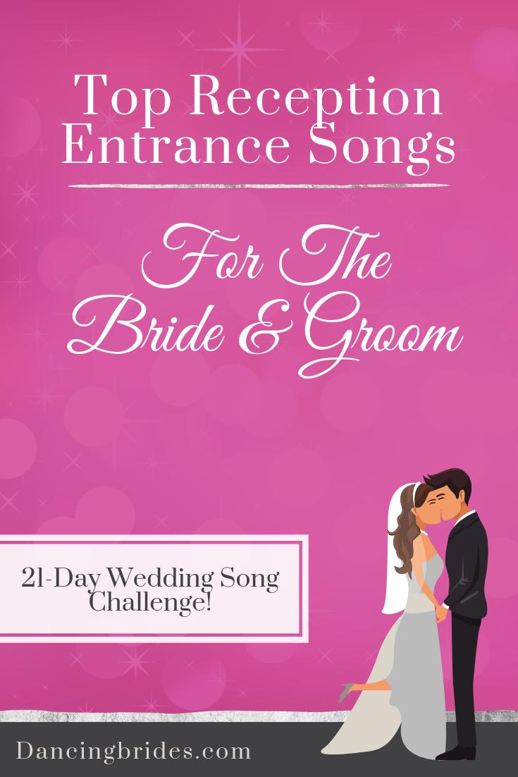 Wedding Reception Songs.Top Reception Entrance Songs For The Bride And Groom Dancing Brides